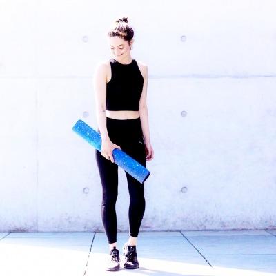 Yogalehrerin Jana Seidel