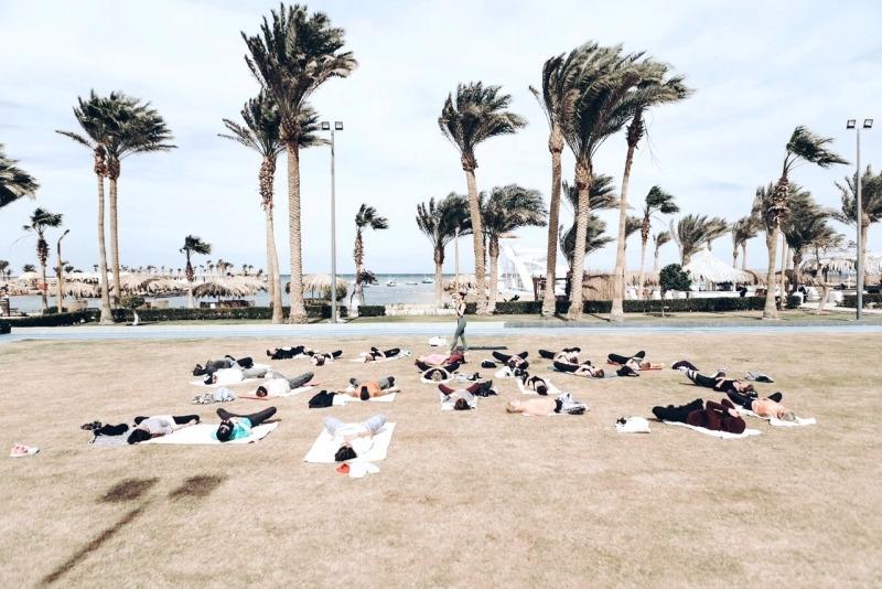 Yoga Event mit Namastyay Jana