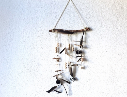 DIY: Wandschmuck für positive Gedanken