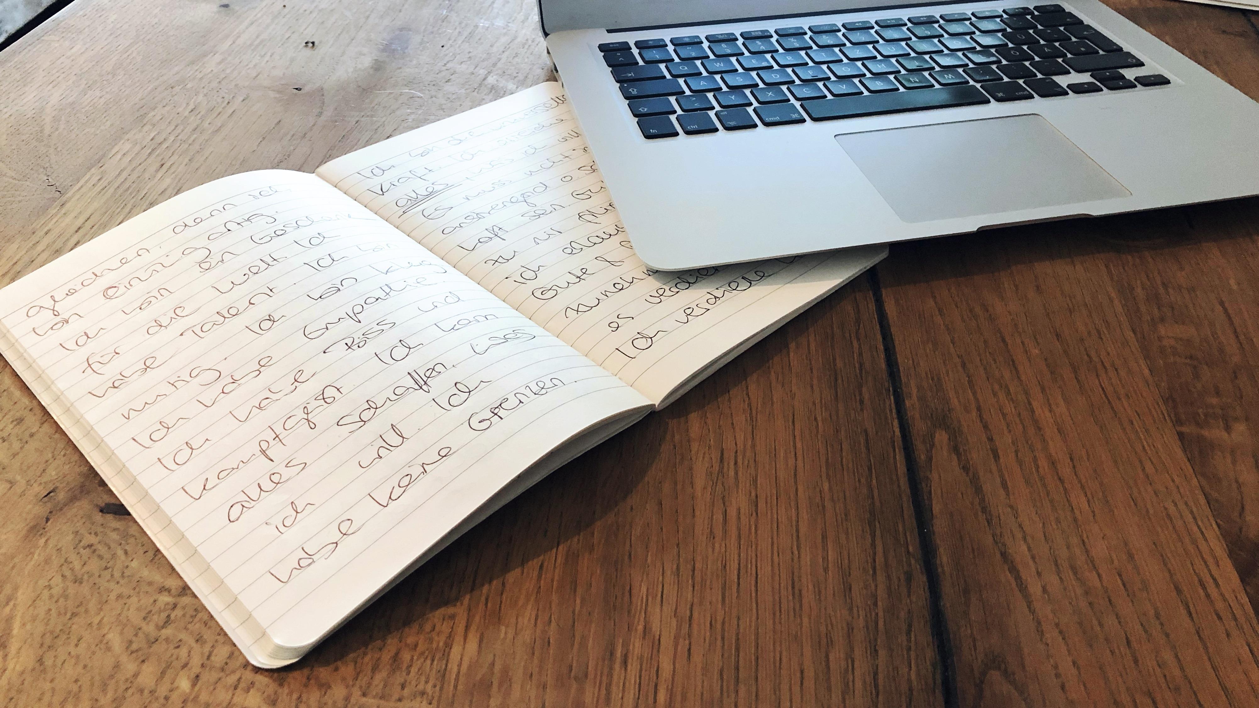 Vision Journal schreiben