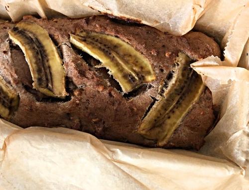 Rezept: Bananenbrot vegan & zuckerfrei