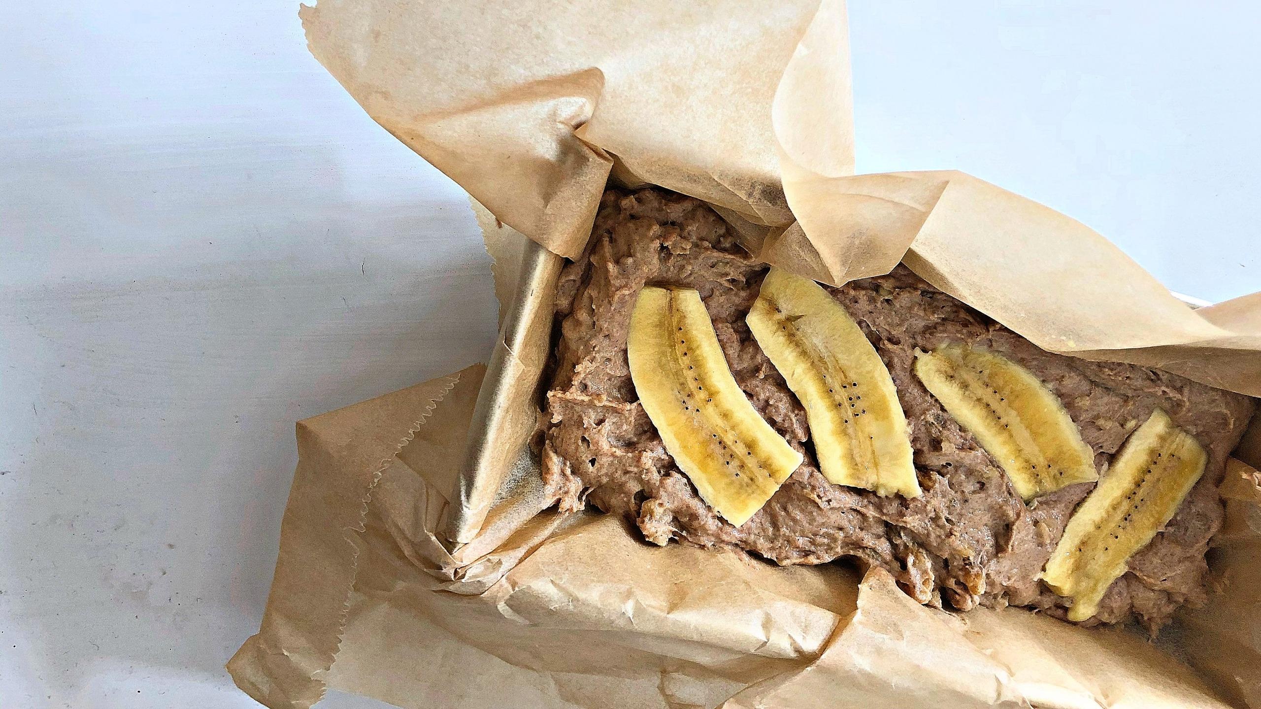 Banane Brot in der Form