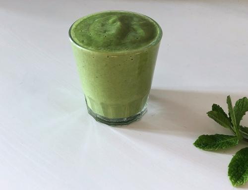 Rezept: Grüner Protein-Smoothie vegan